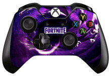 1pc Fortnite Skin Sticker Decal For Microsoft Xbox one Game Controller Skins Stickers for Xbox one Controller Vinyl