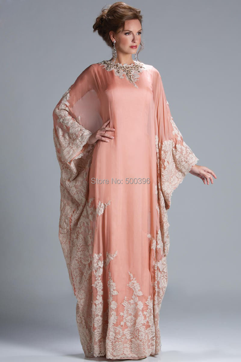 evening dresses in coral color