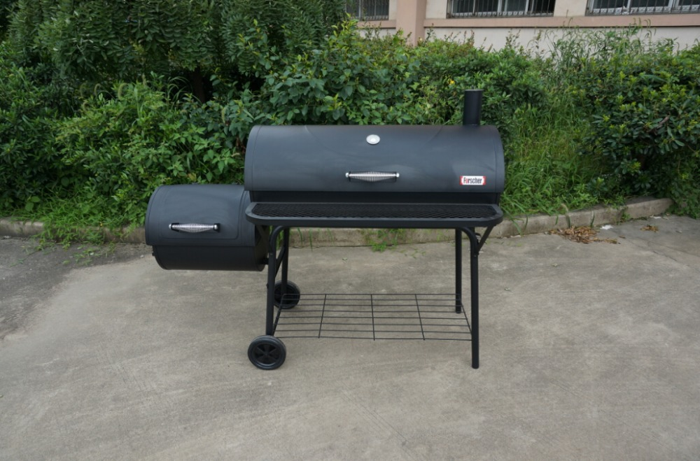 American quality standard charcoal bbq barbecue grill for Bbq affumicatore fai da te