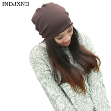 4790abee9f6 Winter multifunctional beanies autumn woman gorros pure color performance  women beanie hat high quality female skullies · 20 Colors Available