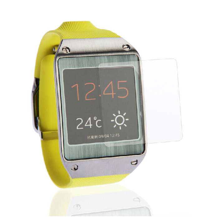 Good Sale 5x CLEAR Screen Protector Guard Cover Film for Samsung Galaxy Gear V700 Jan 10