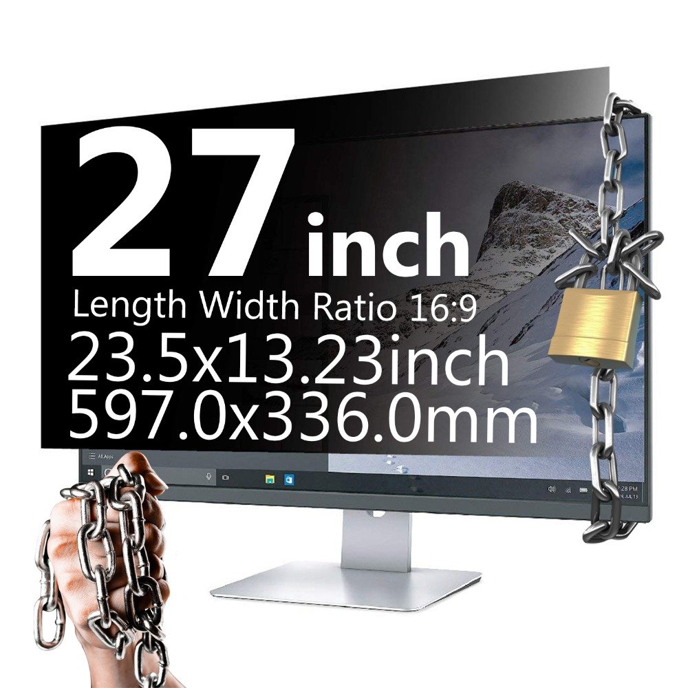 27 Inch 16: 9 Widescreen Privacy Filter Privacy Screen Privacy Screen Film Privacy Screen Protector for iMAC MAC цена
