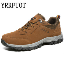 YRRFUOT Men Hiking Shoes Waterproof Outdoor Sport Shoe 2019