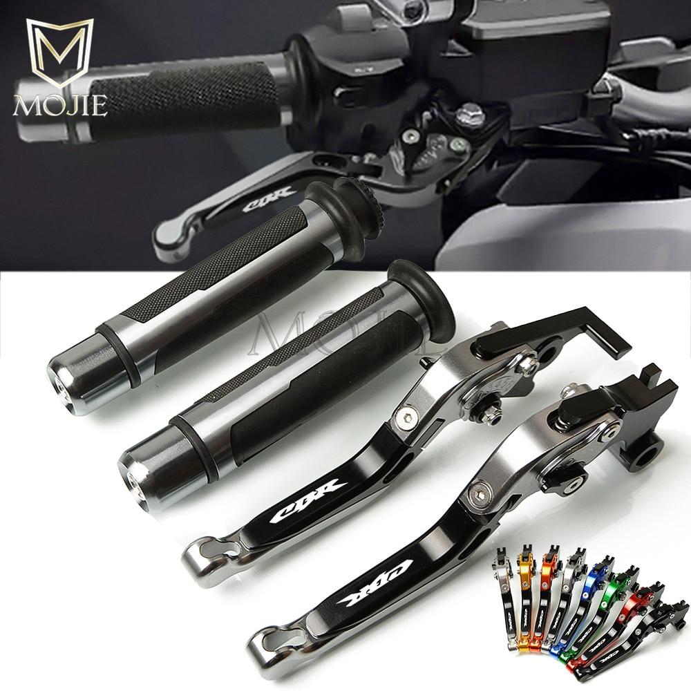 Motorcycle Brake Clutch Lever Handle Grips Handlebars For Honda CBR1000RR FIREBLADE SP CBR1000 RR CB R1000RR