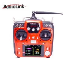 цены Original RadioLink AT10 II 2.4Ghz 12CH RC Transmitter with R12DS Receiver PRM-01 Voltage Return Module Battery for RC Quadcopter