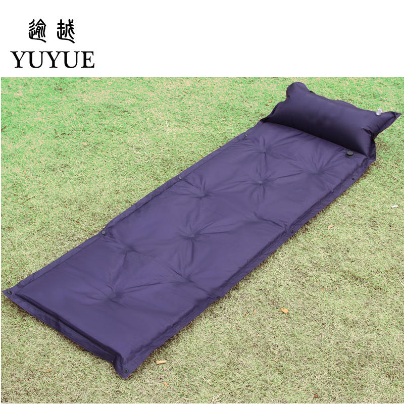 Cheap Waterproof Inflatable Mattress For Outdoor Camping Tent A Tourist Beach Blanket Inflatable Bed For Tent Sleeping bag 1