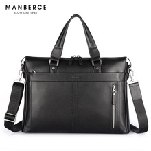 New Genuine Leather Men's Bag