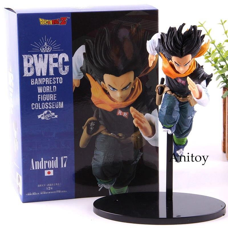 BWFC Banpresto World Figure Colosseum Type B Android No.17 Dragon Ball Z