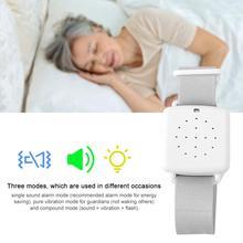 Multi modos de braço usar cama molhado enurese urina alarme sensor de vibração sonora para cama de bebê alarme molhado