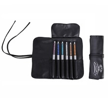 Makartt 6PCS Luxury Sable Acrylic Nail Gel Brush Pen Set with Roll Up Bag DIY Nail Tools 4 Sizes Nail Art Brush G0166