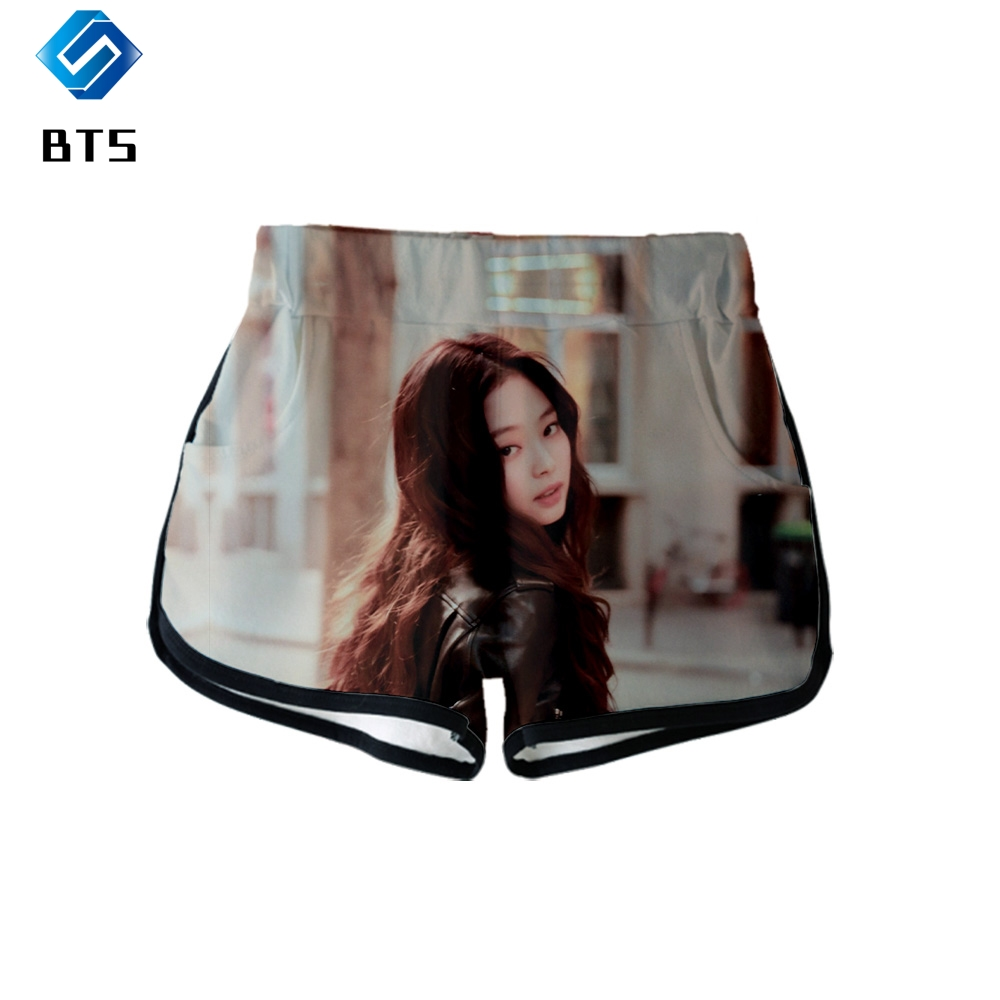 Blackpink NEW 3D print Lisa Jennie High quality and comfortable Summer Women Casual Harajuku girl Hot Sale Sexy   Shorts   Clothes