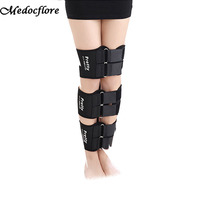 Bow O X Type Leg Posture Corrector Belt Easy Curves Elastic Adjustable Bandage Thigh Legs Belt