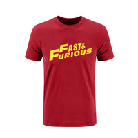 Printed Fast And The Furiouses 7 T Shirt Men Cotton Hip Hop Hiphop Movie Paul Walker