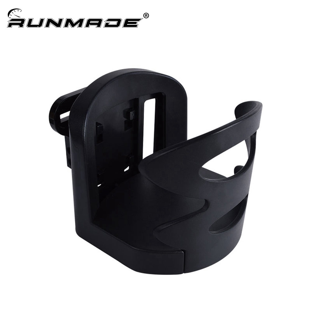 runmade 1Pcs Universal Car Drinks Holders for Dashboard or Vent Black Vehicle Car Truck Drink Bottle Cup Holder Car Styling