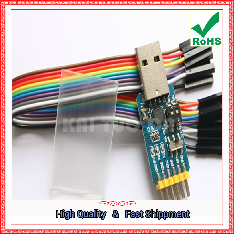 USB to UART serial port module CP2102 usb TTL 485 232 interlocking recovery (H5A3) image