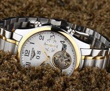 Watches MenTop Brand Luxury GUANQIN Automatic Watch Men Waterproof Luminous Commerce Retro Mechanical Wind Watches