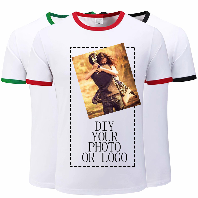 Personalised Printed T-Shirt Your Design Custom Text or Image Ladies Tee Top