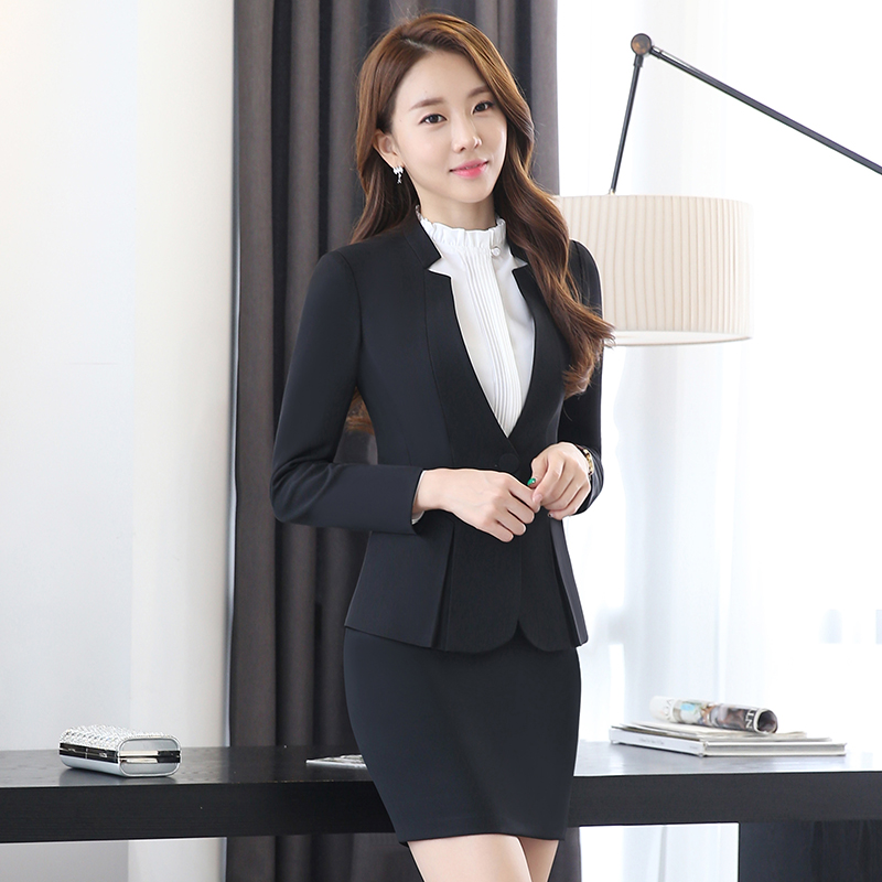 Bureau black Travail gray De Blazer And Black La Pour Plus Pantalon Slim Pants Costumes Formelle Pants D'affaires Femmes blue Et Vêtements Pants Taille Skirt Entrevue blue red Skirt Coat Longues Manches Skirt gray Mode Skirt Ensemble xTwnvPfq
