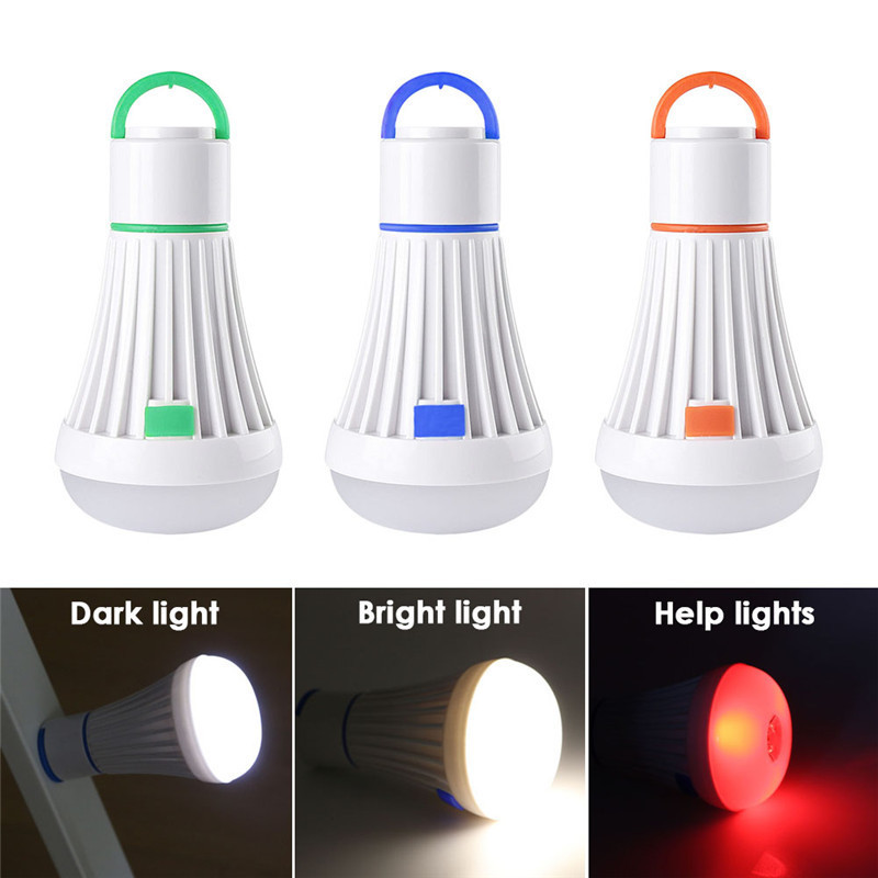 Outdoor LED Camping Tent Hanging Adventure Lanters Lamp Portable LED Light Hunting hut Fishing Garden Lamp Bulb drop shipping