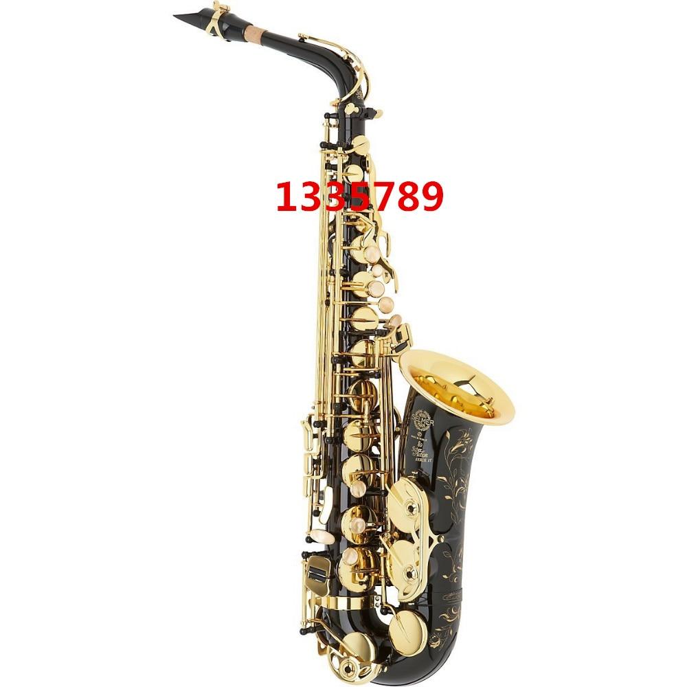 Alto Saxophone Free shipping  France Selmer Baritonsaxophon Alto Saxophone Black Professional E Mouthpiece Sax saxofone линейный массив alto sxa28p