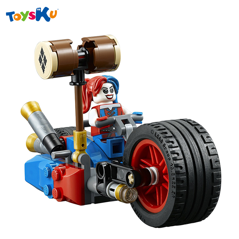 Super Hero Series Motorcycle  Assembly Building Blocks Toys DIY Batman Harley Quin Toy for Children Christmas Gifts