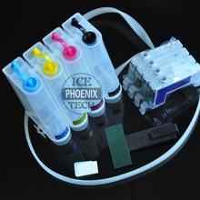 Для печатающей головки EPSON SX235W SX420W SX425W SX435W SX235 SX420 SX425 SX235 235 420 Европа картридж с чернилами для принтера пустая Система непрерывной подачи чернил t1281