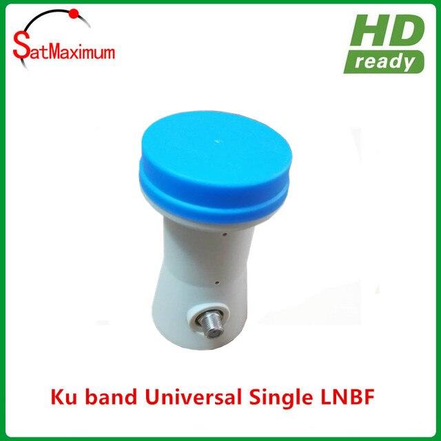 Free shipping High gain Ku band single universal PLL type LNBF with 0.1dB noise