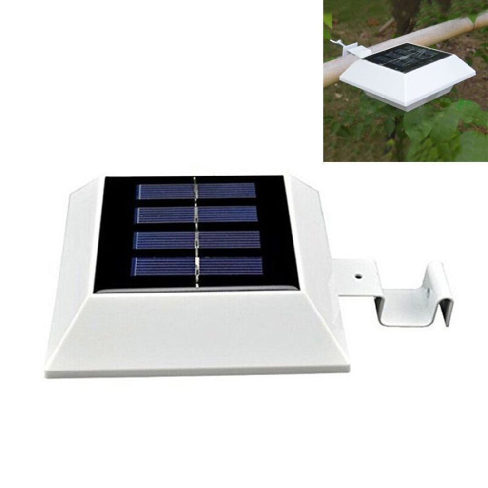 Led Spotlight Hj: New TSLEEN Outdoor Solar Powered LED Gutter Light Garden