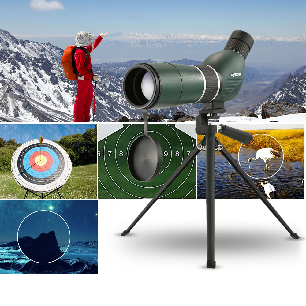20-60X60 Telescope High Quality Powerful Monocular Spotting Scope  For Outdoor Birdwatching Hunting Sight Travel With Tripod20-60X60 Telescope High Quality Powerful Monocular Spotting Scope  For Outdoor Birdwatching Hunting Sight Travel With Tripod