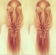 Светлые волосы манекен головы волос Учебные головы-манекены укладки длинных волос манекен косметологии парик парикмахерских парик модели, сделанные