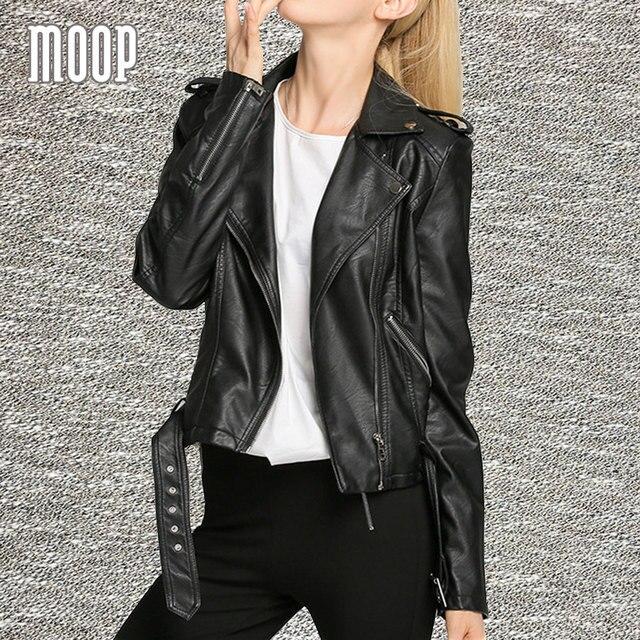 4 Цвета твердых PU кожаные куртки и пальто женщины мотоциклетная куртка off-center zip карман в юбке пальто весте ан cuir femme LT919