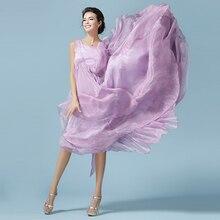 Summer women bohemian dress chiffon long purple vestidos hora de aventura boho robe longue femme rockabilly