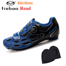 TIEBAO Road Cycling Shoes Men sneakers Women sapatilha ciclismo Athletic Shoes Breathable Racing Bicycle Training Sports Shoes