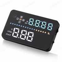 Headup Display 3.5 inch Smart HUD Car Projector System Vehicle Mounted voltage ometer Clock odometer speedometer Head Up
