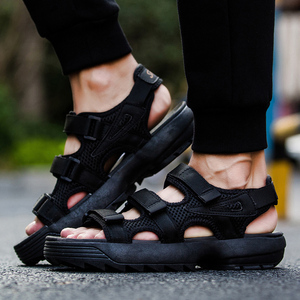 Image 5 - Summer Mens Sandals Comfortable Casual Men Shoes Fashion Male Slippers Classic Beach Shoes Sandalias