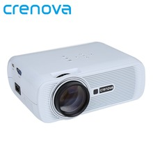 CRENOVA XPE460 Led Projector For Proyector Led Full HD 1920*1080p With USB VGA AV HDMI Home Theater Movie Video Projector