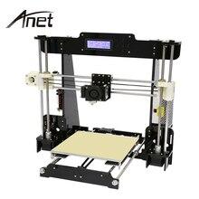(Корабль из США) Анет A8 3D принтер Высокая точность RepRap Prusa i3 DIY очаг нить SD Card 2004 ЖК-дисплей auto level