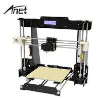 Anet A8 3D Printer High Precision Reprap Prusa I3 DIY Hotbed Filament SD Card 2004 LCD
