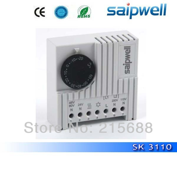 Free Shipping Hot Sk3110 Series Of Electronic Heating Element Cooling Thermostat High Quality Saip