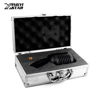 Deluxe Metal Vocal Dynamic Mic Classic Vintage Microphone For Computer Studio PC DJ Mixer Audio Professional Karaoke Microphones