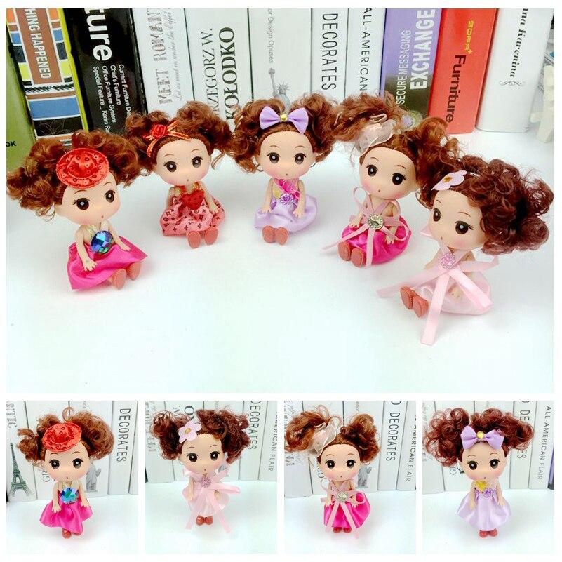 Cachos confuso boneca brinquedos de casamento bonecas corpo pvc bonito boneca do bebê brinquedos para meninas crianças criativos presentes da menina