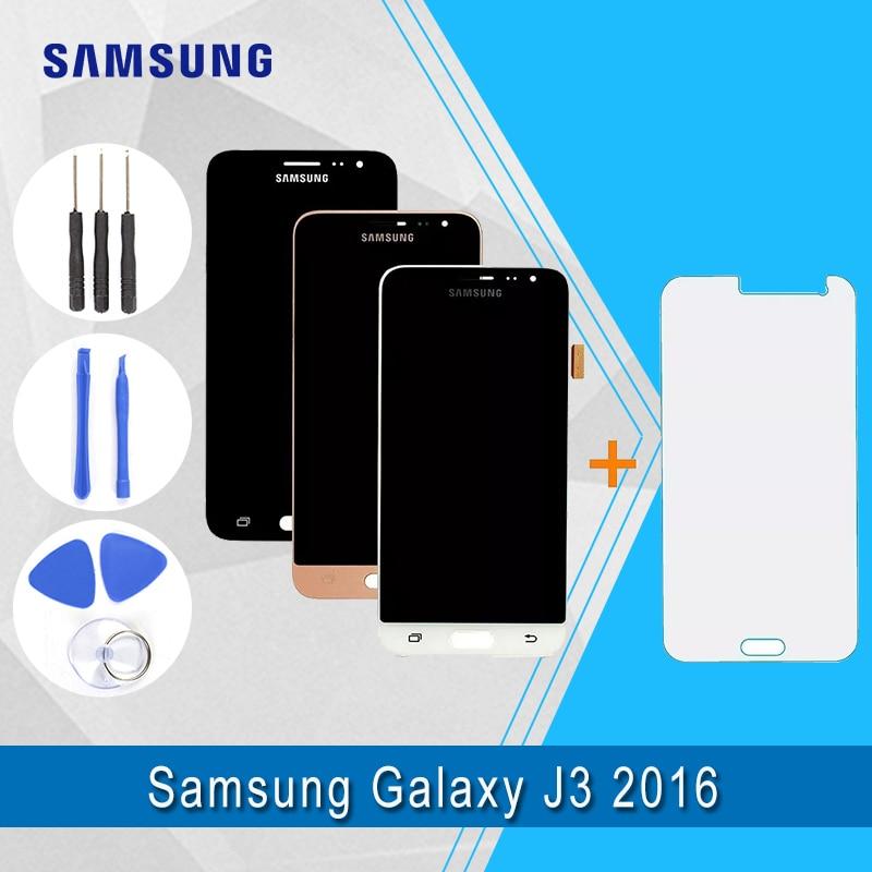 Samsung TFT LCD Samsung Galaxy J3 2016 J320F Display LCD + Touch Screen Digitador Assembléia 100% testado Qualidade Superior J320F LCD