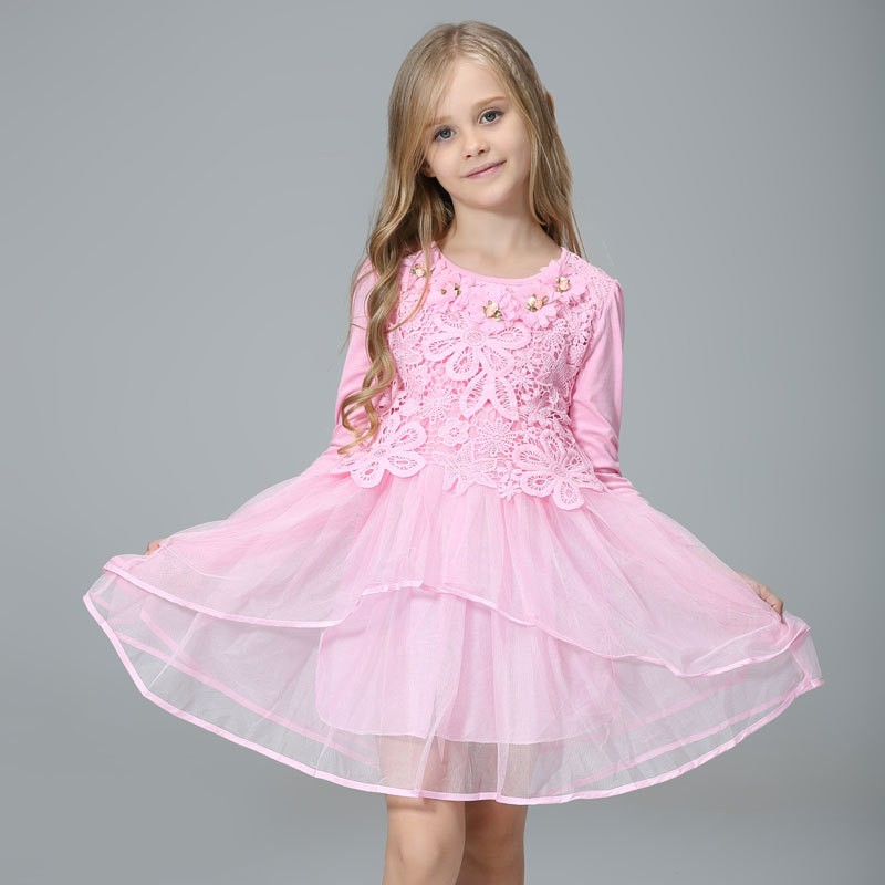 2016 flower girl princess tutu wedding party gifts and children s pink flower girl dresses