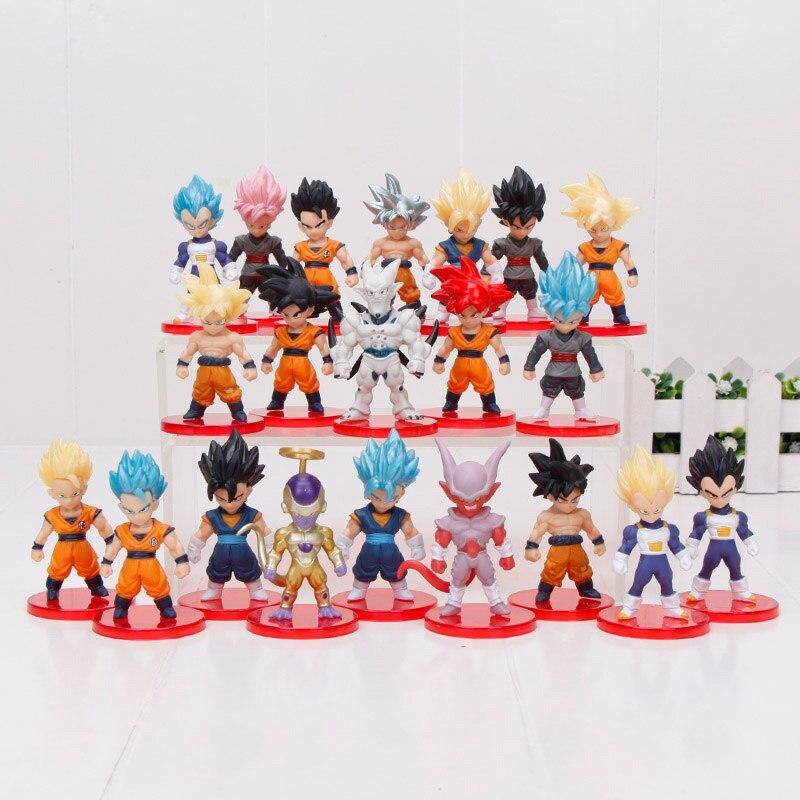 Anime Dragon Ball Super Goku Ultra Istinto PVC Action Figure Super Saiyan 23cm