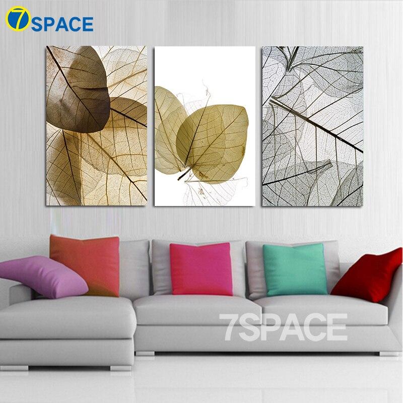montajes espacio nrdica hojas y las venas de la lona impresin de la pintura
