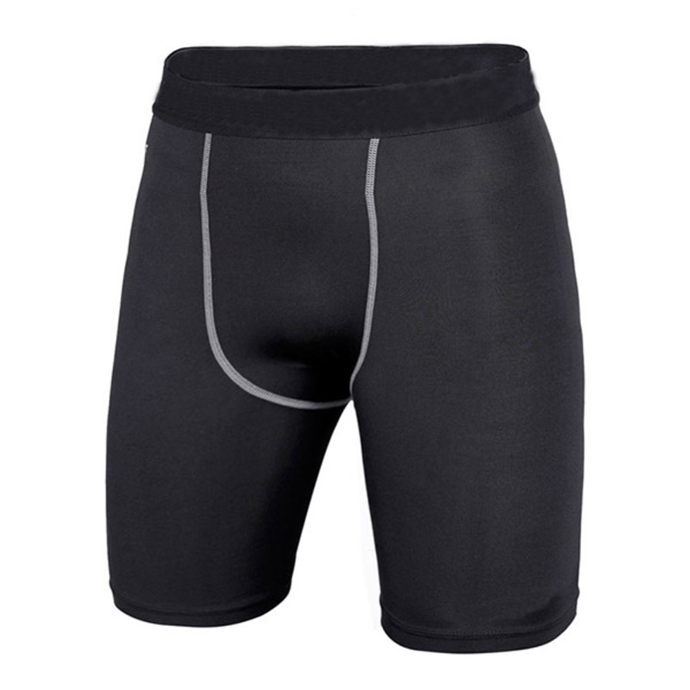 Breathable Men Compression Sport Shorts Athletic Training Skin Tight Base Layer Shorts Outdoor Spots Shorts New 2019