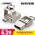 Ugreen USB Flash Drive Micro USB OTG Pendrive 64 32 GB For Xiaomi Redmi Note 5 Redmi 5 Plus 4X Phone Memory Stick Card USB Flash