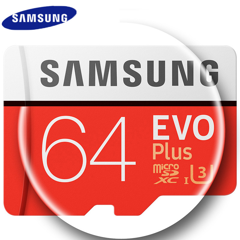 SAMSUNG Micro SD Card 64GB 100Mb/s 16GB 32GB 128G 256GB Memory Card Flash TF Card for Phone Class10 SDHC SDXC Card Free Adapter samsung micro sd card 16gb 32gb 64gb 128gb 256gb 100mb s flash memory card tf card with mini sdhc sdxc class10 u3 free adapter