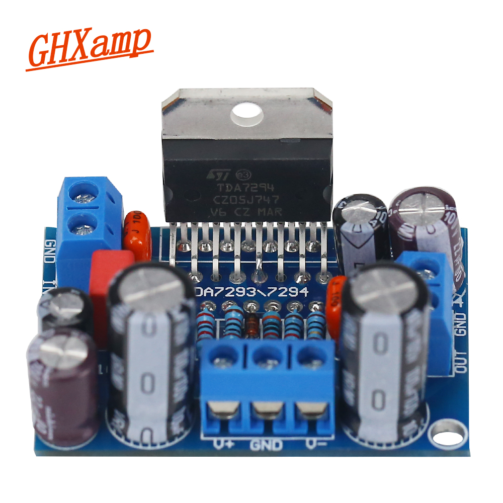 Ghxamp Tda7294 85w Mono Amplifier Board Support Btl Bridging Class D Circuit Pcb Tda8920 High Efficiency Finished Official Standard Line Design 1pc In From Consumer Electronics On