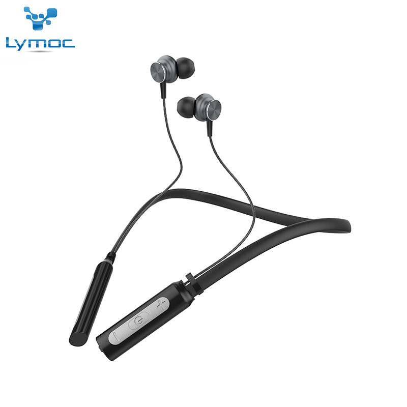 LYMOC Original Neckband Wireless Bluetooth Headphones Sport Earphones Power Bass Headset Stereo 10Hours Handsfree for All phone v8 wireless stereo bluetooth headphones car driver handsfree call bluetooth earphones bluetooth headset portable storage box
